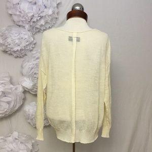 Nili Lotan Sweaters - NILI LOTAN $515 sheer v neck sweater M